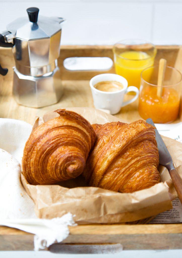 croissant ontbijt  © Irene de Waal